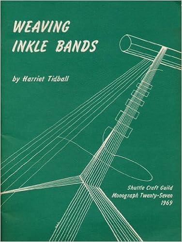 Book Weaving Inkle Bands