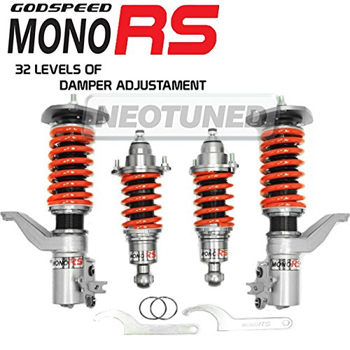 Godspeed (MRS1510) Mono-RS Damper COILOVERS For 2002-2006 Acura RSX DC5, 2001-2005 Civic, 2002-2005 Civic Si HB