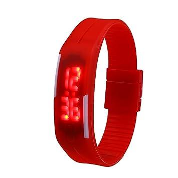 Beautyrain 1 PC Touch LED Reloj electrónico digital Pulsera digital inteligente: Amazon.es: Deportes y aire libre