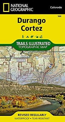Durango, Cortez (National Geographic Trails Illustrated Map)