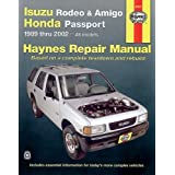 Isuzu Rodeo, Amigo '89-'02 (Haynes Manuals) (Haynes Repair Manuals)