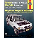 Isuzu Rodeo, Amigo '89-'02 (Haynes Manuals) (Haynes Repair Manuals)