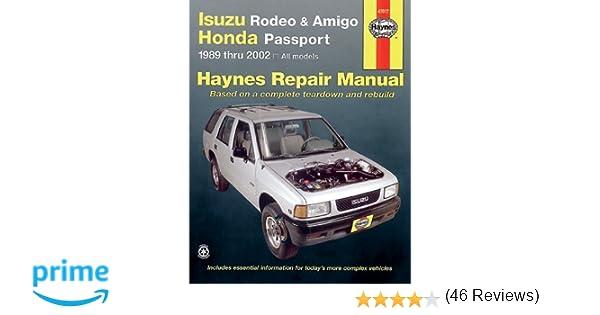 Isuzu rodeo amigo 89 02 haynes manuals haynes repair manuals isuzu rodeo amigo 89 02 haynes manuals haynes repair manuals haynes 9781563924811 amazon books fandeluxe Gallery