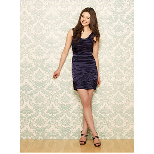 The Secret Life of an American Teenager India Eisley as Ashley standing with legs crossed 8 x 10 Inch Photo