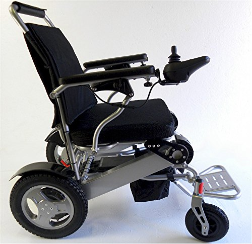 Folding, Light Weight Electric Powered Mobility Wheelchair by Scoot-Buddy Deluxe Folding, Light Weight Electric Powered Mobility Wheelchair