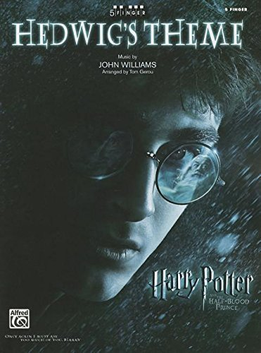 Piano Sheet John Legend (Hedwig's Theme (from Harry Potter and the Half-Blood Prince): Five Finger Piano (Sheet) (5 Finger) by Williams, John, Gerou, Tom (2009) Sheet music)