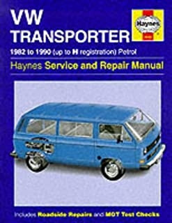 volkswagen t25 transporter owners manual handbook caravelle combi rh amazon co uk VW Touareg VW Microbus
