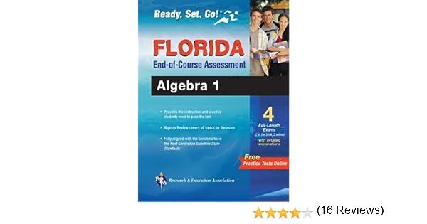 Amazon.com: Florida Algebra I EOC with Online Practice Tests ...