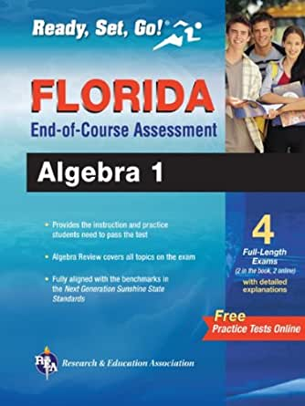 Algebra 1 end of course practice test florida