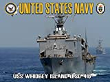 USS Whidbey Island Poster Navy Poster Navy Gifts US Navy 18x24