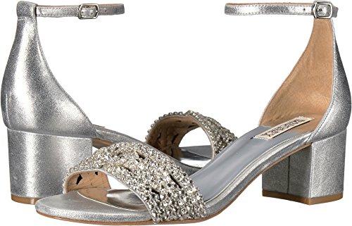 Badgley Mischka Women's Triana Dress Sandal, Silver, 10 M US