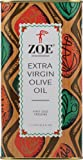 Zoe Extra Virgin Olive Oil, 1 Liter Tins (Pack of 2)