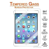 New iPad 9.7 Inch 2020/ iPad Pro 9.7 Inch 2020/ iPad Air 2 / iPad Air Screen Protector Glass MouKou 0.33m 2.5D Round Edge Tempered Glass Screen Protectors