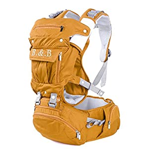 Hipseat Baby Kangaroo Mochila Infantil Yellowcolor: Sports & Outdoors