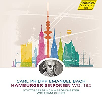Bach: Hamburg Symphonies [Wolfram Christ, The Stuttgart Chamber ...