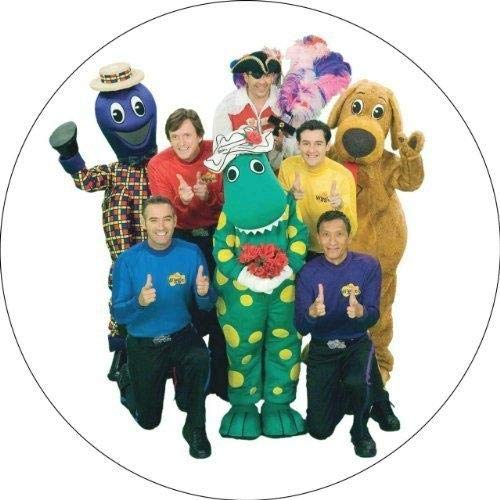 (The Wiggles Greg Anthony Murray Jeff Dorothy The Dinosaur Captain Featherswood Edible Cake Topper Image ABPID06482 - 1/8 sheet)