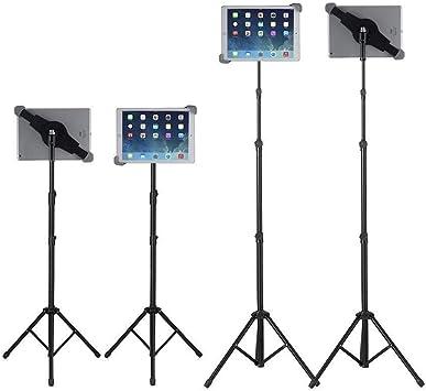Ipad Air 10.5 Soporte para tr/ípode Ipad tr/ípode de tableta ajustable en altura Soporte de piso para iPad para Ipad Pro 12.9 // 11 Ipad 9.7  y todas las tabletas de 9.5-14.5 pulgadas