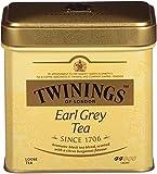 Twinings of London Earl Grey Loose Tea Tins, 3.53 Ounces (Pack of 6)