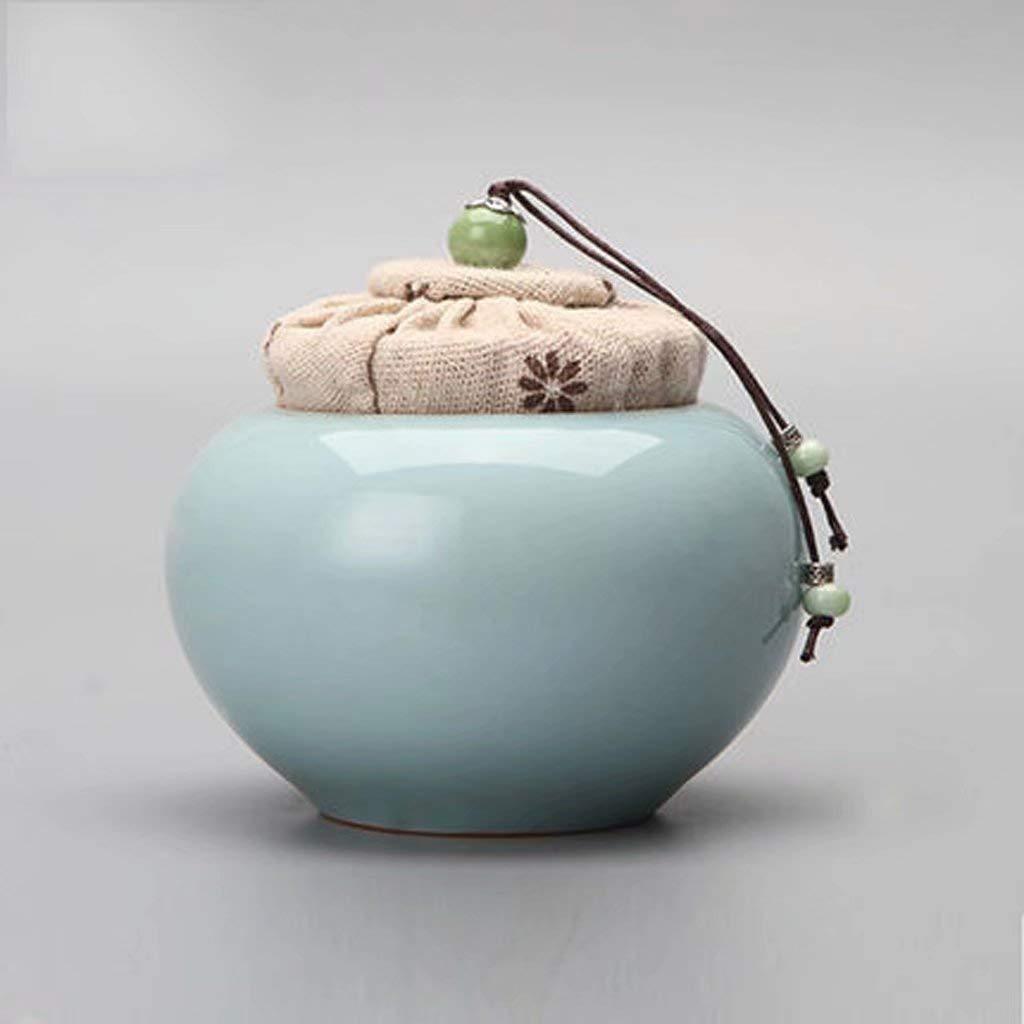 D Cherished Urns Keepsake bluee Engraved Going Home Adult Cremation Urn