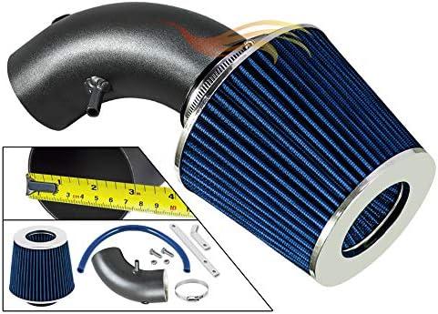 SHORT RAM INTAKE Compatible For 08-10 DODGE AVENGER//CHRYSLER SEBRING VCSI-DG-V19BLB Velocity Concepts MATTE BLACK PIPE BLUE