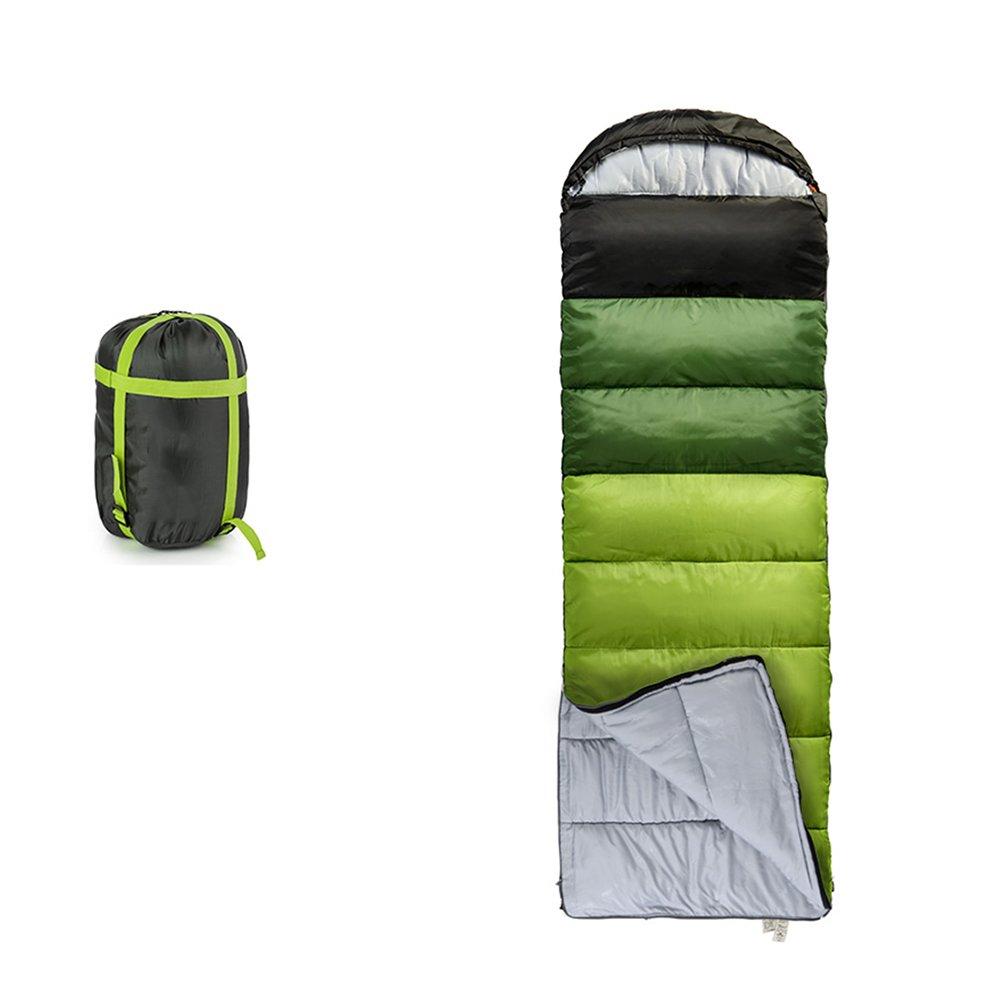 LJHA shuidai 寝袋アダルトスプリングキャンプ薄いポータブルコットン寝袋室内シングルスリーピングバッグステッチングダブル寝袋 (色 : A, サイズ さいず : 1.7KG) B07FMFC628 1.7KG A A 1.7KG