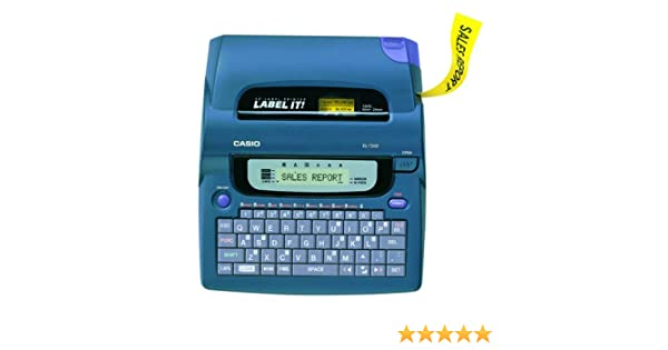 Amazon.com : Casio KL-7200 3-Line Label Printer : Label Makers : Electronics