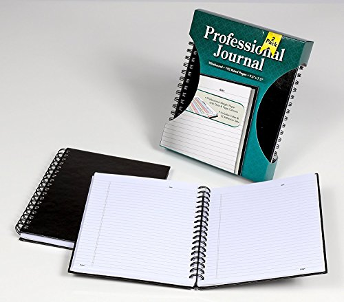 Tops Wirebound Journal, 9-1/2'' x 7-1/2'', Legal Rule, 96 SH, 2 BK/PK, 6 PK/CT by Tops