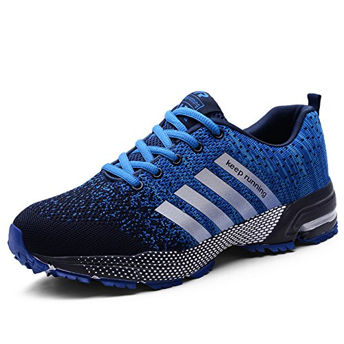 Womens Sports Running Lightweight Shoes for Sneakers Shoes FZDX Athletic 8702 BLUE Organizer Shoes wSqEg