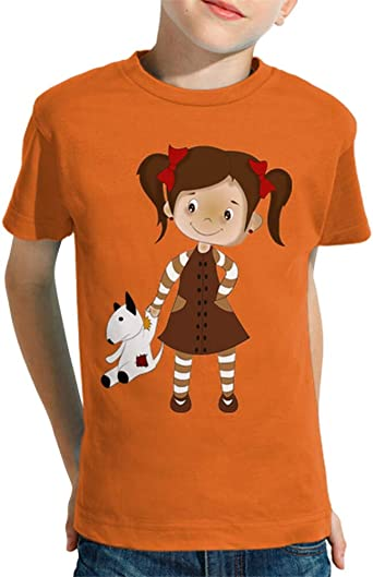 latostadora - Camiseta Nina para Nino y Nina Naranja XXL: Amazon.es: Ropa y accesorios