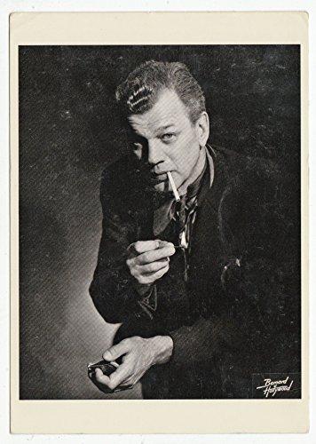 Joseph Cotten Portrait - Classic Cinema Vintage Original Postcard #0976 - 1980's