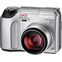 OLYMPUS Camedia C-725 Ultra Zoom Digital Camera At A Glance Review Image