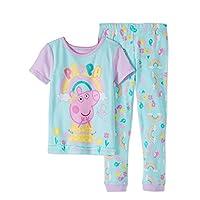 ABD Ltd Peppa Pig PJS Pajama Sleep Wear for Toddler Girls (2T)