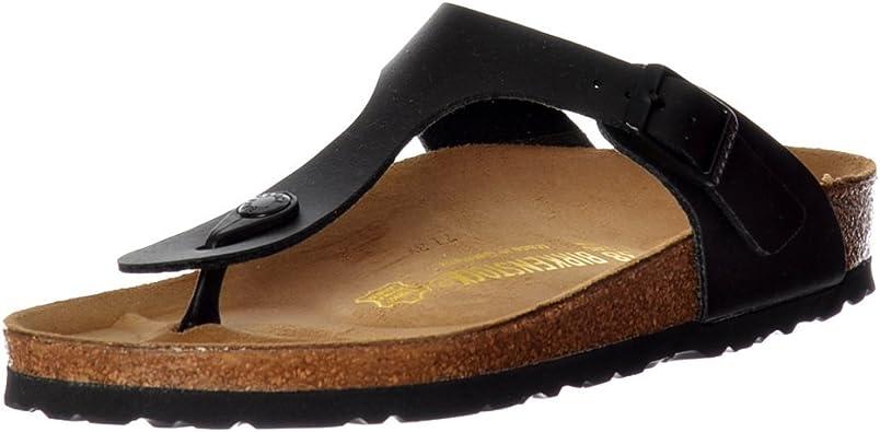 Birkenstock Stylish 'Gizeh' Birko Flor Women's Thong Sandals
