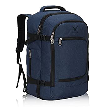 Hynes Eagle Travel Backpack 40L Flight Approved Carry on Backpack, Blue