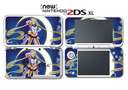 Jupiter Computer Cart - Sailor Moon New Cartoon Anime Jupiter Video Game Vinyl Decal Skin Sticker Cover for Nintendo New 2DS XL System Console
