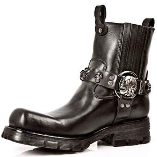 New Rock NEWROCK Nr M.7621 S1 Black Boots - Mens B2EB9