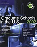 Graduate Schools in the U. S. 2002, Peterson's, 076890675X