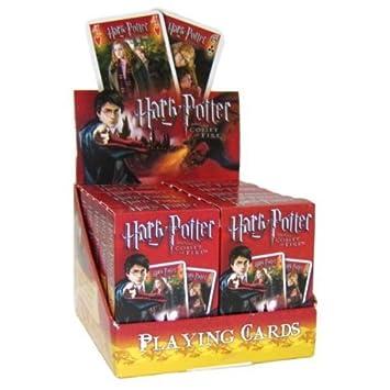 Amazon.com: Harry Potter y el cáliz de fuego Juego de cartas ...