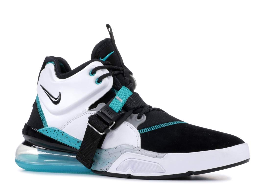 NIKE Air Force 270 Mens Shoes Black/White/Wolf Grey
