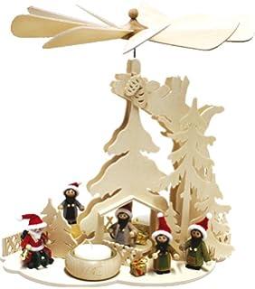 Unbekannt Holz Bastelset 3 D Fensterbild Weihnachtsmann Mit