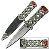Scottish Gaelic Sgain Dubhs Celtic Dagger Knife, Outdoor Stuffs