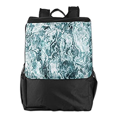 50%OFF Newfood Ss Abstract Rock Texture Modern Stylized Retro Splashes Antique Dark Design Outdoor Travel Backpack Bag For Men And Women