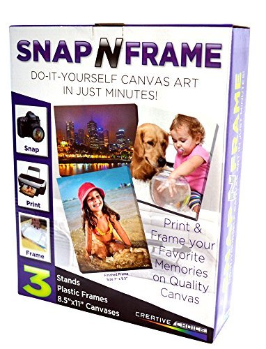 "CreativeChoice Snap-N-Frame 7"" x 9.5"" DIY Canvas Art"