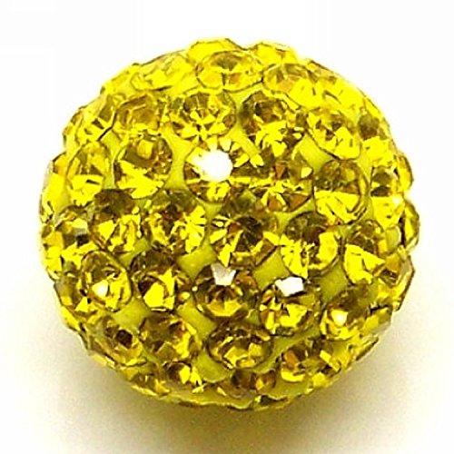 Yellow Disco Ball - 3