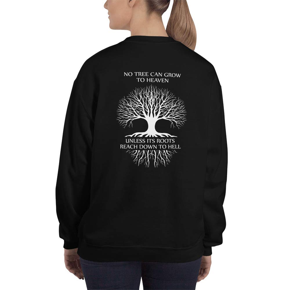 Warm me doll World Tree from Hell to Heven Woomen Sweatshirt
