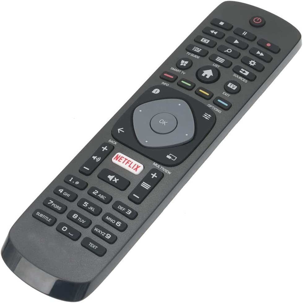 Allimity Replacement Remote Control For Philips Fhd Uhd Elektronik
