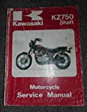 1982 - 1987 KZ750 Shaft Kawasaki Service Repair Manual