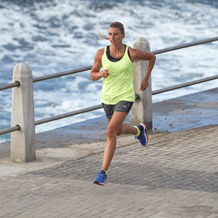 Wave De Wos Zapatillas Flash Horizon Mujer blanc corail Running Para 2 Mizuno Bleu dxwT7XtIqd