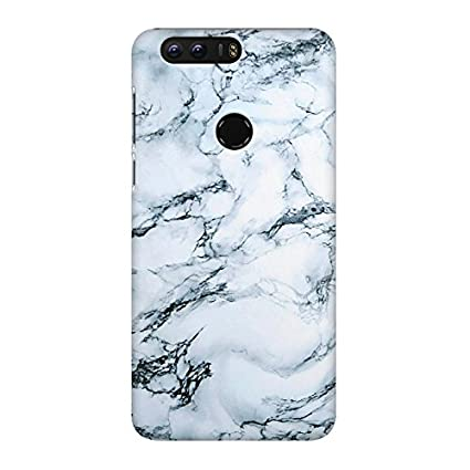 online store 99c58 ddfa1 Motivate box India,White Marble Designed Huawei Honor 8: Amazon.in ...