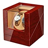 JQUEEN Watch Winder with Quiet Japanese Mabuchi Motor (Bubinga)